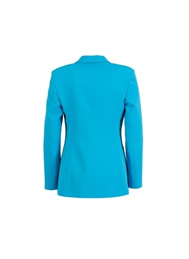 Setre Koyu Yeşil Blazer Ceket Pantolon Takım Turkuaz